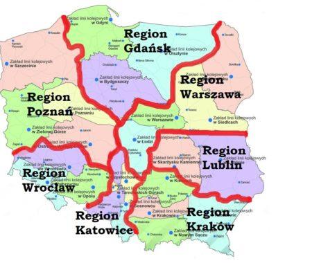 Regiony mapa